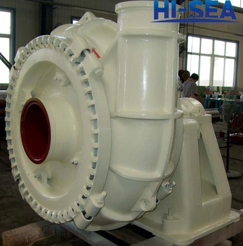 HI-SEA dredge pumps includes the high pressure dredge pump