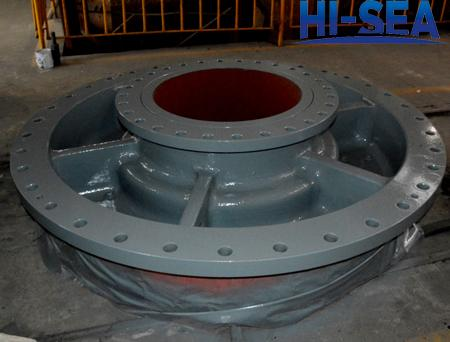 dredge pump end cover,dredge pump cover,dredge pump casing